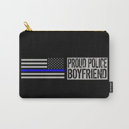 Police: Proud Boyfriend (Thin Blue Line) Carry-All Pouch