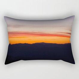 Sunset on the AT Rectangular Pillow