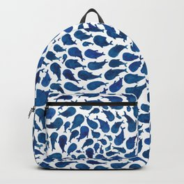 Blue Whales Backpack