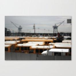 red hook bus farm Canvas Print