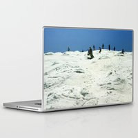 skiing Laptop & iPad Skins featuring Spring Skiing on Superstar by BACK to THE ROOTS