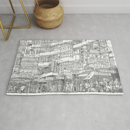 Hong Kong. Kowloon Walled City Rug