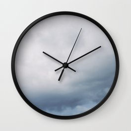Afternoon clouds Wall Clock