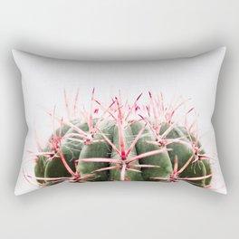 cactus red Rectangular Pillow
