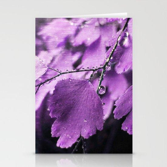 Lavender Fern Stationery Cards