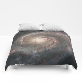 The Whirlpool Galaxy Comforters