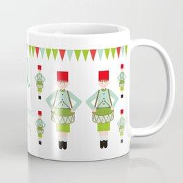 12 Days of Christmas - Twelve Drummers Drumming Coffee Mug