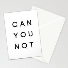 Can You Not Stationery Cards