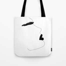 Watercolor brow Tote Bag