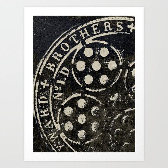 Manhole Cover 2 Art Print