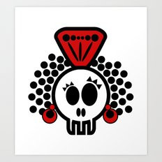 ***I´LL CARRY  on DANCING FLAMENCO even in  the GRAVE*** Art Print