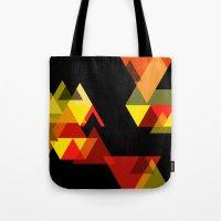 sesame street Tote Bags featuring SESAME by Stephanie Eades