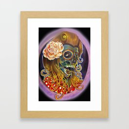 Mum-A-Billy Framed Art Print