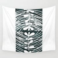 mirror Wall Tapestries featuring mirror by Valeria Kondor