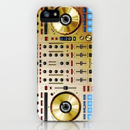DDJ SX N In Limited Edition Gold Colorway iPhone Case