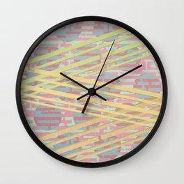 Texture pattern 10 Wall Clock