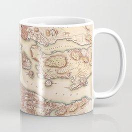 Map Of Stockholm 1853 Coffee Mug