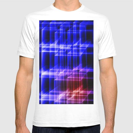 Electric squares T-shirt