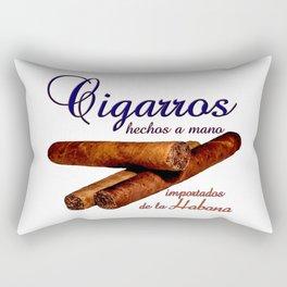 Cigarros de la Habana Rectangular Pillow