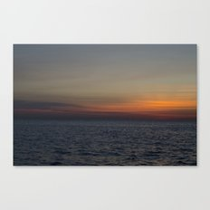 Sunrise over Lake Michigan Canvas Print