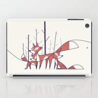 foxes iPad Cases featuring Foxes by Ale Giorgini