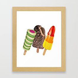Lollipops Framed Art Print