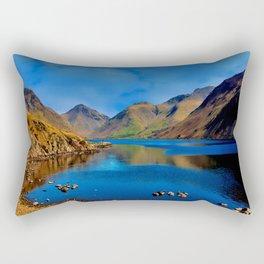Wastwater English Lake District Rectangular Pillow
