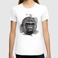 gorilla T-shirts featuring Gorilla by Creadoorm