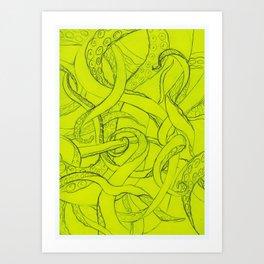 Tentacle Art Print