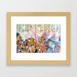 vICTORY gARDEN Framed Art Print