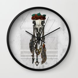 Bestial Crowns: The Crow Wall Clock
