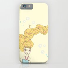 long hair girl iPhone 6s Slim Case