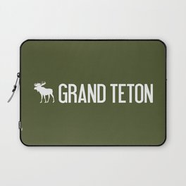 Grand Teton Moose Laptop Sleeve