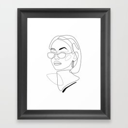 90s Look Framed Art Print