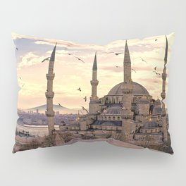 Sultan Ahmed Mosque Istanbul Turkey Ultra HD Pillow Sham