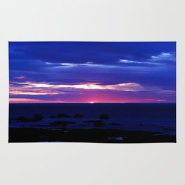 Dusk on the Sea Rug