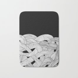 The tangled sea Bath Mat