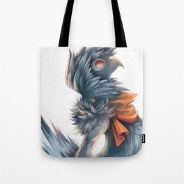 Avian Paint Sketch Tote Bag