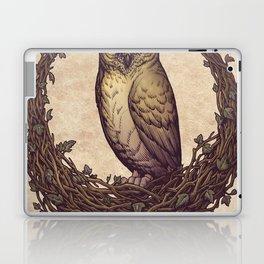 Owl Hedera Moon Laptop & iPad Skin