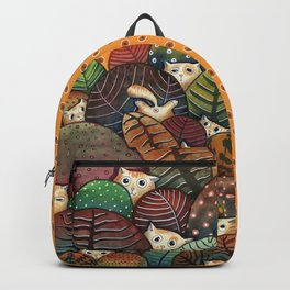 Messy cat gang Backpack