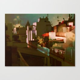 Summer in the cit Canvas Print