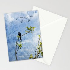 You Didn't Say Goodbye When You Left Stationery Cards