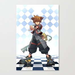 Sora: The Keyblade Master Canvas Print