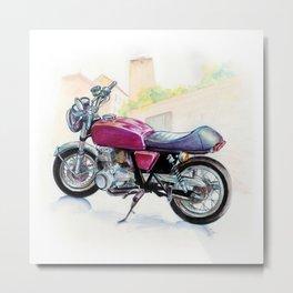 Rosso Honda (Motocicletalia) Metal Print