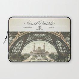 Paris Postcard #2 by Murray Bolesta Laptop Sleeve