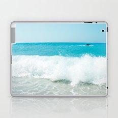 Minimal turquoise ionian wave - Porto Katsiki beach Laptop & iPad Skin
