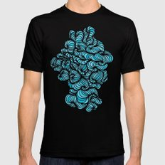 Blue monday 2X-LARGE Mens Fitted Tee Black