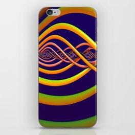 Helix Background iPhone Skin