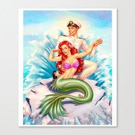 Mermaid Mermay Canvas Print