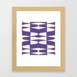 Zaha Ultra Violet Framed Art Print